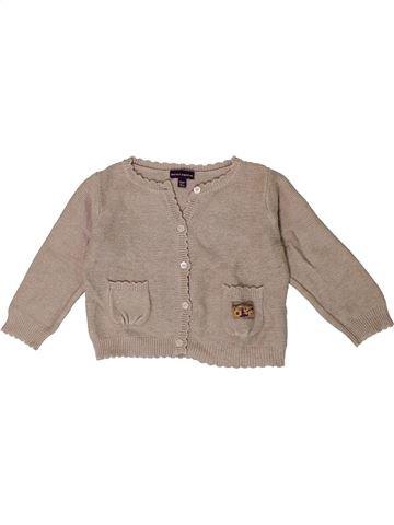 Chaleco niña SERGENT MAJOR beige 12 meses invierno #1400953_1