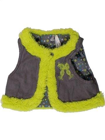 Gilet fille ORCHESTRA marron 6 mois hiver #1400960_1