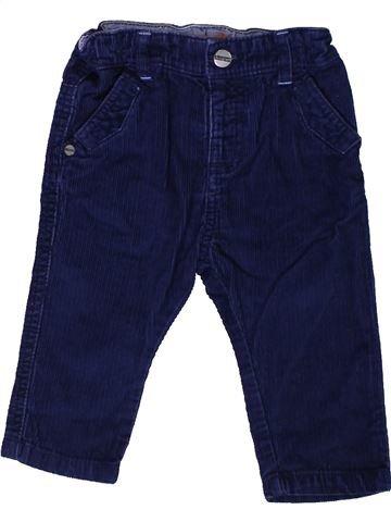Pantalon garçon MARKS & SPENCER violet 9 mois hiver #1400986_1