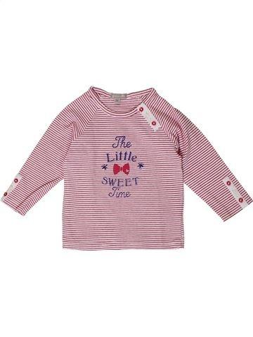 Camiseta de manga larga niña GRAIN DE BLÉ beige 6 meses invierno #1401007_1