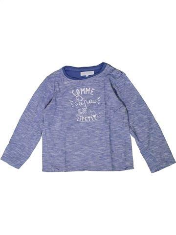 Camiseta de manga larga niño CADET ROUSSELLE gris 5 años invierno #1401015_1