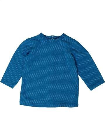 Camiseta de manga larga niña ORCHESTRA azul 3 meses invierno #1401035_1