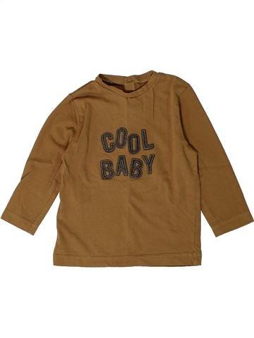 Camiseta de manga larga niño BOUT'CHOU marrón 18 meses invierno #1401057_1