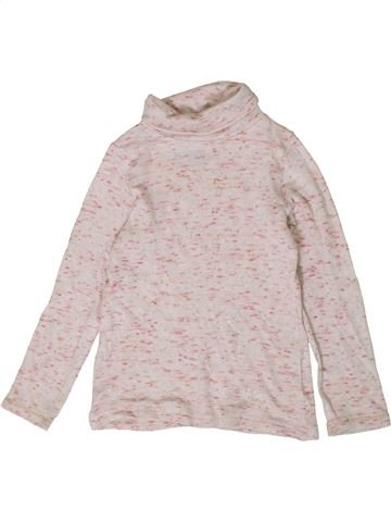 T-shirt col roulé fille ORCHESTRA rose 2 ans hiver #1401097_1