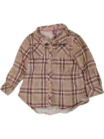 Blusa de manga larga niña ORCHESTRA rosa 2 años invierno #1401101_1