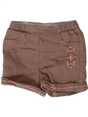 Short - Bermuda fille ORCHESTRA marron 18 mois hiver #1401106_1