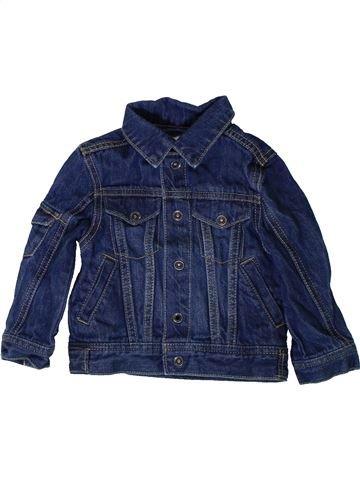 Veste garçon VERTBAUDET bleu 2 ans été #1401110_1
