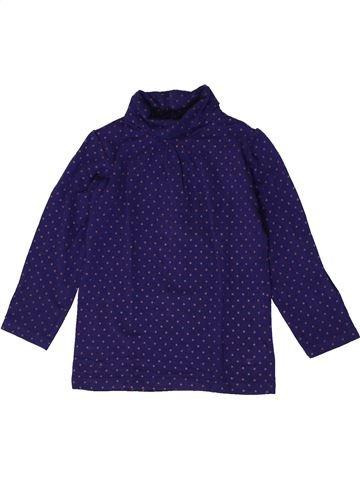T-shirt col roulé fille KIABI bleu 3 ans hiver #1401149_1
