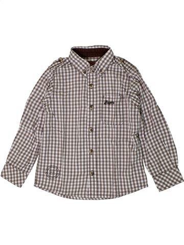 Chemise manches longues garçon SERGENT MAJOR gris 4 ans hiver #1401183_1