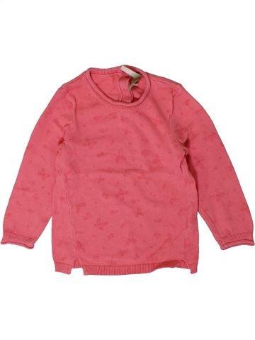 jersey niña ORCHESTRA rosa 9 meses invierno #1401209_1