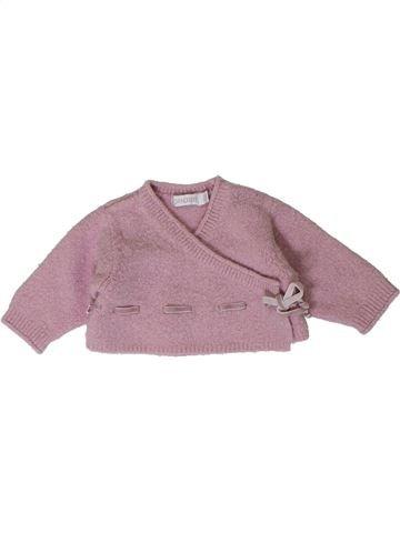 Chaleco niña OKAIDI violeta 1 mes invierno #1401233_1