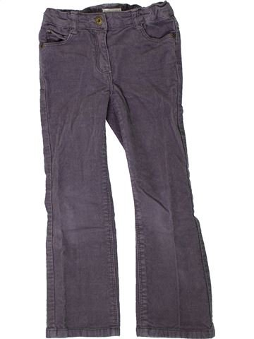 Pantalon fille VERTBAUDET violet 5 ans hiver #1401259_1