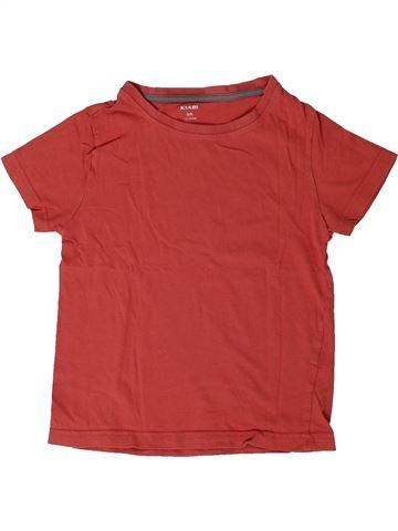 T-shirt manches courtes garçon KIABI orange 6 ans été #1401283_1