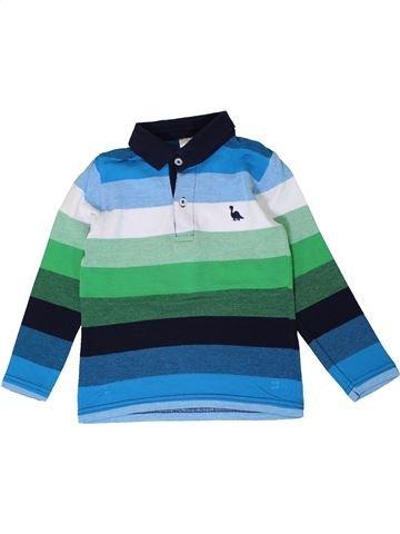 Polo manches longues garçon C&A vert 5 ans hiver #1401292_1