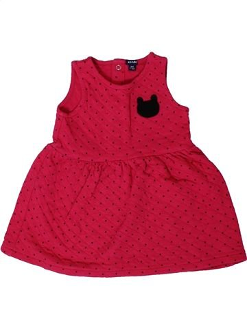 Robe fille KIABI rouge 18 mois hiver #1401294_1