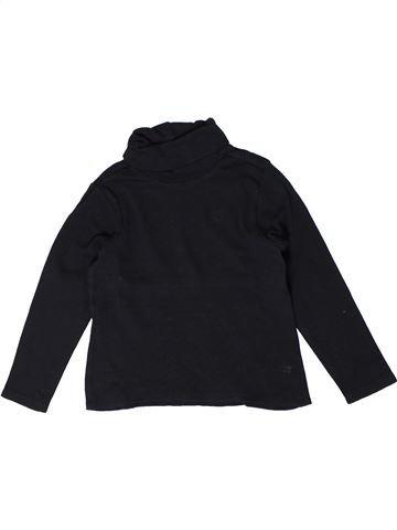 T-shirt col roulé garçon ORCHESTRA noir 5 ans hiver #1401301_1