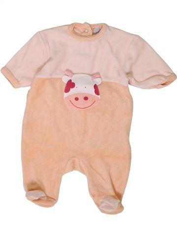 Pyjama 1 pièce fille KIABI beige naissance hiver #1401321_1