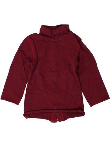 Camiseta de cuello alto niña KIABI violeta 9 meses invierno #1401324_1