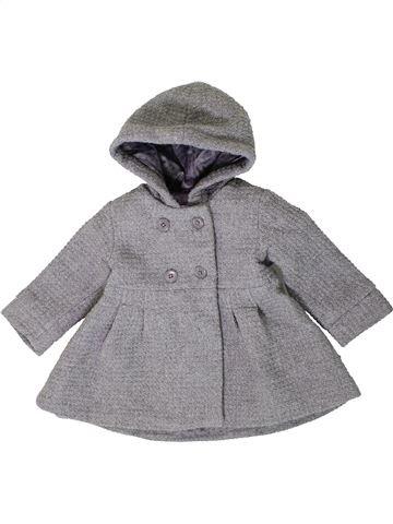 Abrigo niña VERTBAUDET gris 2 años invierno #1401330_1