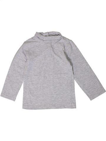 T-shirt col roulé unisexe KIABI gris 2 ans hiver #1401339_1