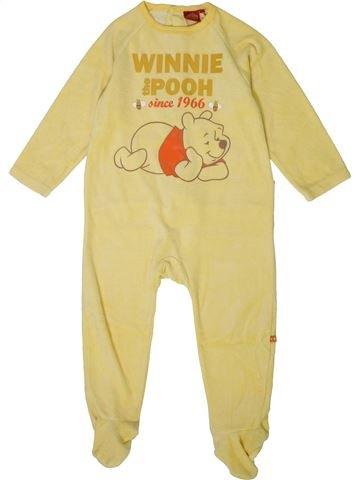 Pijama de 1 pieza niño DISNEY amarillo 3 años invierno #1401348_1
