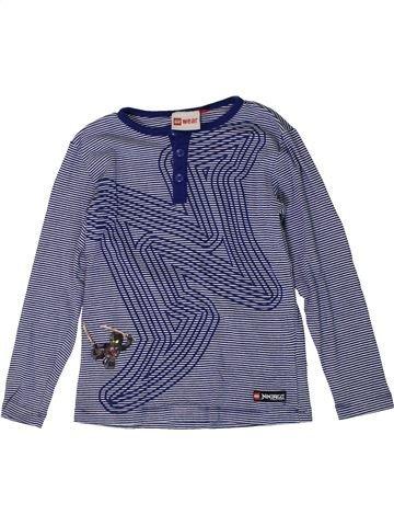 T-shirt manches longues garçon LEGO WEAR bleu 7 ans hiver #1401410_1