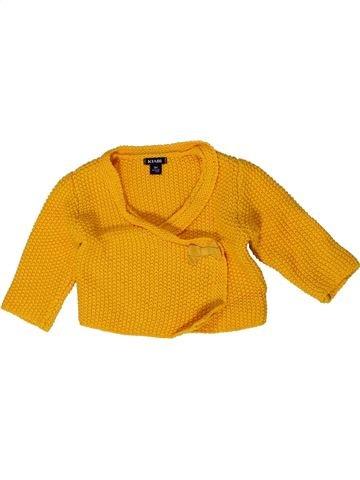 Gilet fille KIABI orange 3 mois hiver #1401436_1