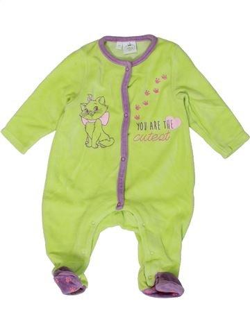 Pijama de 1 pieza niña DISNEY verde 3 meses invierno #1401439_1