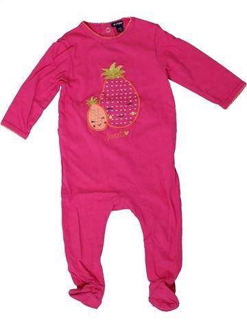 Pijama de 1 pieza niña KIABI rosa 12 meses verano #1401440_1