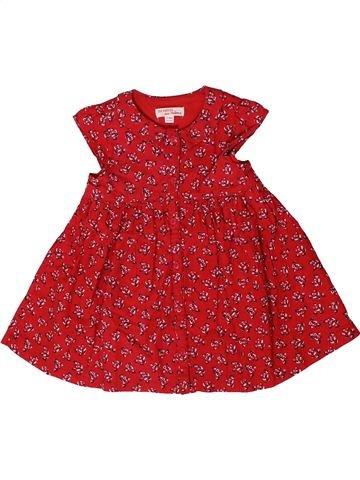 Robe fille DPAM rouge 12 mois été #1401486_1