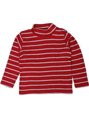 T-shirt col roulé garçon GRAIN DE BLÉ rose 3 ans hiver #1401523_1