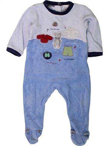 Pijama de 1 pieza niño ABSORBA azul 12 meses invierno #1401618_1