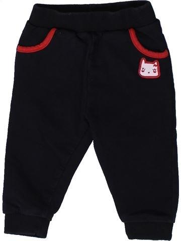 Pantalón niña ORCHESTRA negro 9 meses invierno #1401624_1