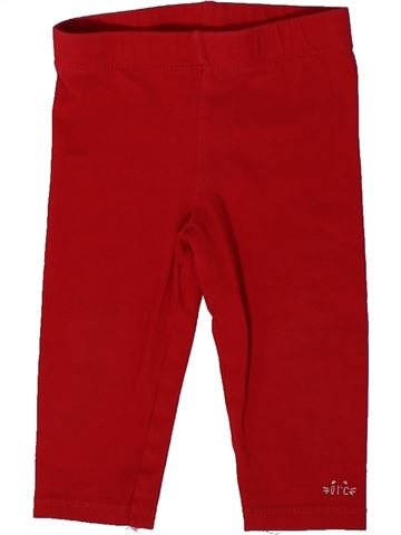 Legging fille ORCHESTRA rouge 9 mois hiver #1401626_1