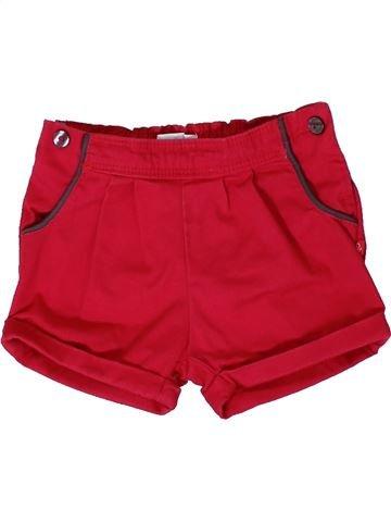 Short - Bermuda fille OKAIDI rouge 12 mois hiver #1401637_1