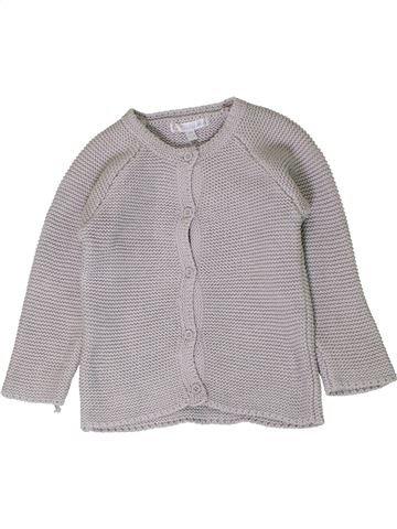 Chaleco niña KIABI gris 12 meses invierno #1401668_1