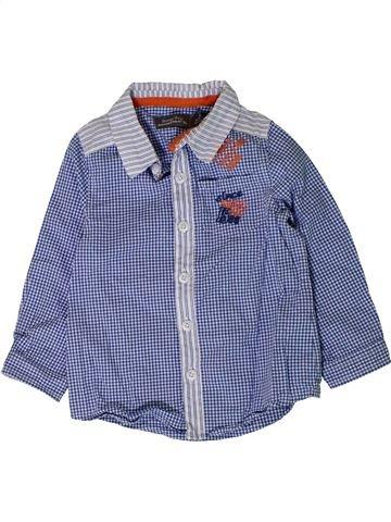 Chemise manches longues garçon ORCHESTRA bleu 18 mois hiver #1401669_1