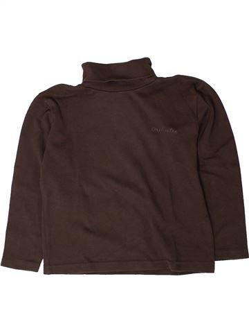 Camiseta de cuello alto niño ORCHESTRA marrón 7 años invierno #1401676_1