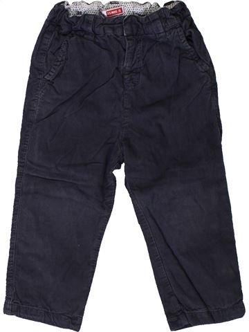 Pantalon fille DPAM noir 2 ans hiver #1401685_1