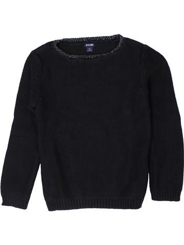jersey niña KIABI negro 6 años invierno #1401715_1