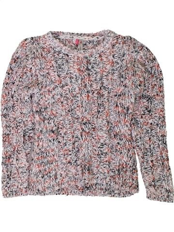 Pull fille ORCHESTRA gris 6 ans hiver #1401719_1