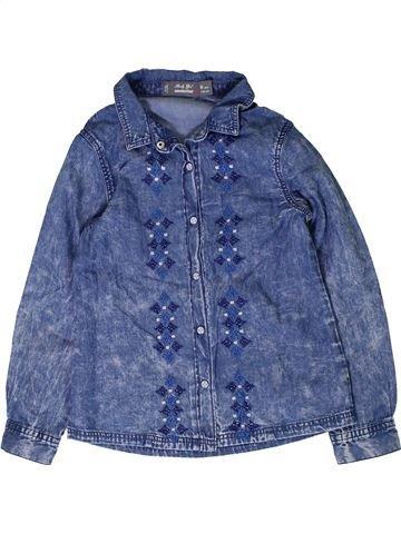 Blusa de manga larga niña ORCHESTRA azul 6 años invierno #1401720_1