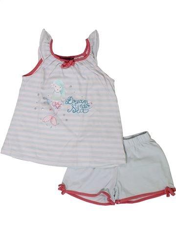Pijama de 2 piezas niña SERGENT MAJOR blanco 4 años verano #1401751_1