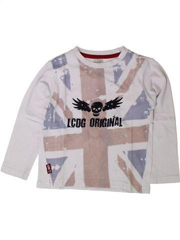 T-shirt manches longues garçon LA COMPAGNIE DES PETITS gris 4 ans hiver #1401769_1