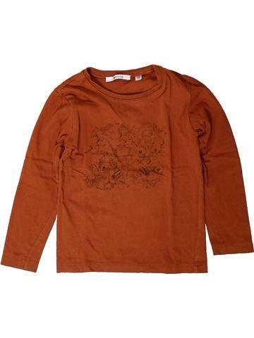 Camiseta de manga larga niño MARÈSE marrón 4 años invierno #1401770_1