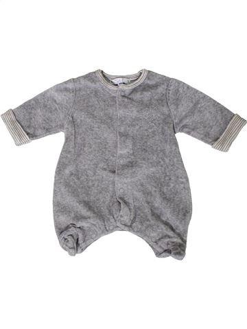 Pyjama 1 pièce garçon KIABI gris naissance hiver #1401777_1