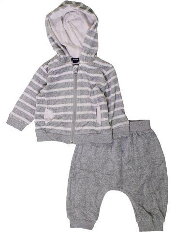 Conjunto niño KIABI gris 6 meses invierno #1401785_1