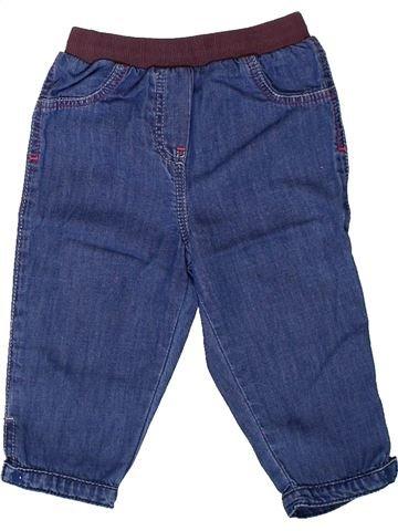 Pantalón niña LES BEBES SONT COMME ÇA azul 6 meses invierno #1401794_1