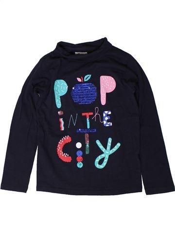 T-shirt col roulé fille DPAM noir 6 ans hiver #1401836_1