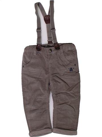 Pantalon garçon LULU CASTAGNETTE gris 18 mois hiver #1401842_1